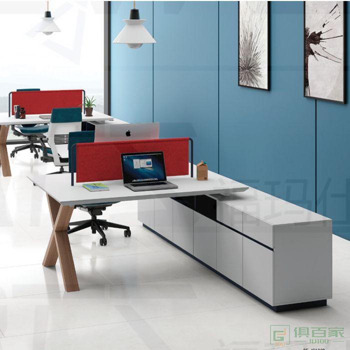 福玛仕家具简格系列职员办公桌椅组合家具 简约现代