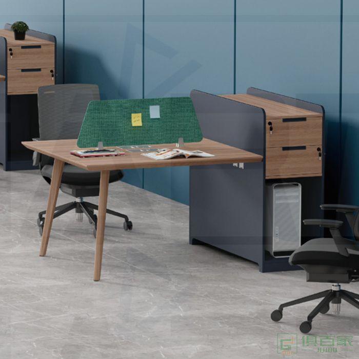 福玛仕家具简悦系列办公家具办公桌椅组合财务桌简约